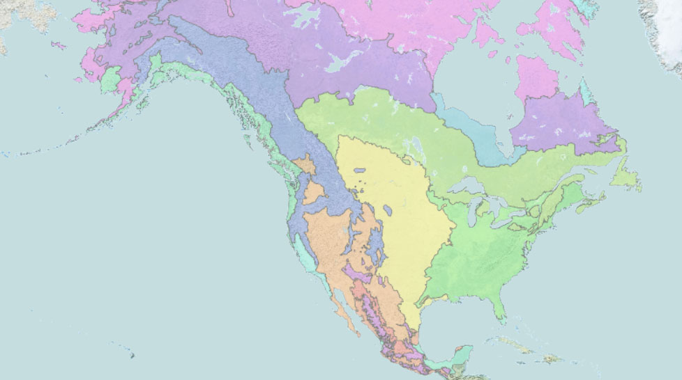 ecology layer us map